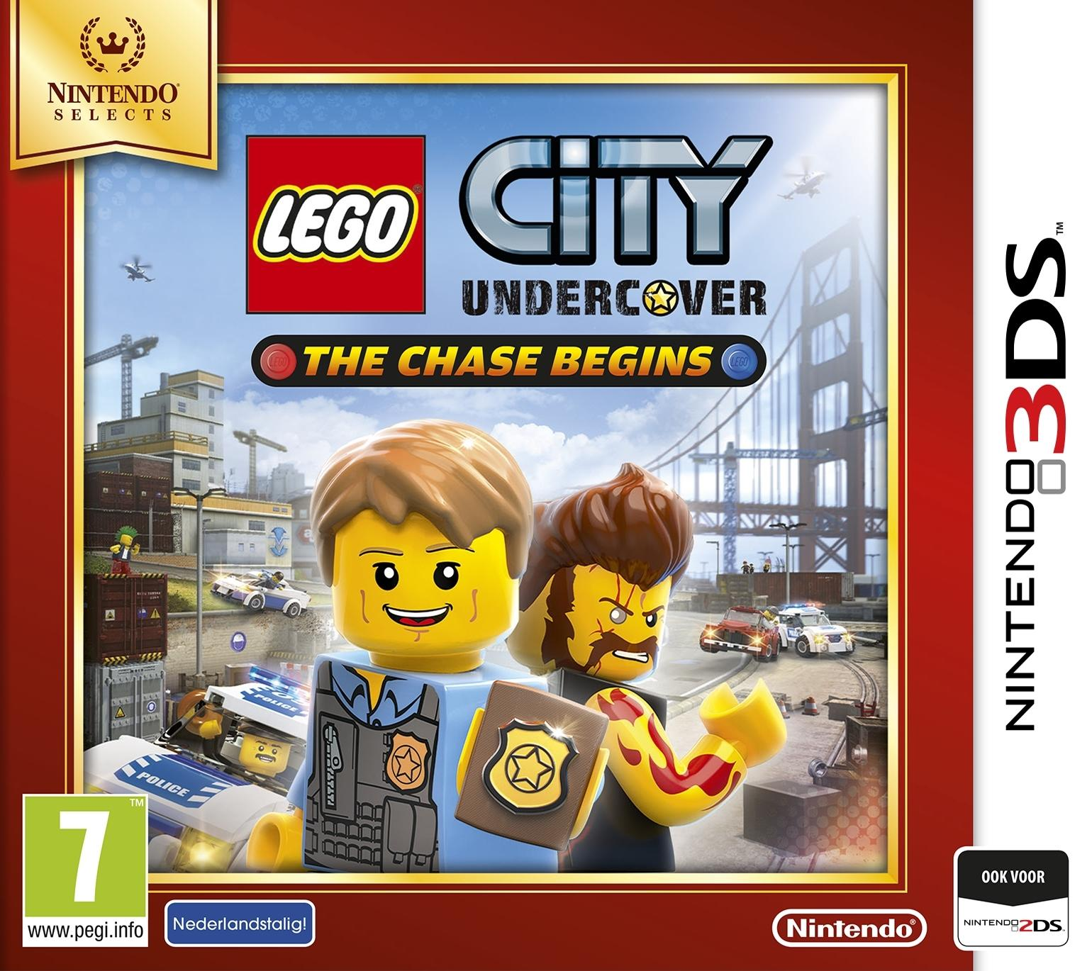 Nintendo LEGO City Undercover, The Chase Begins (Select) 3DS (2233748) thumbnail