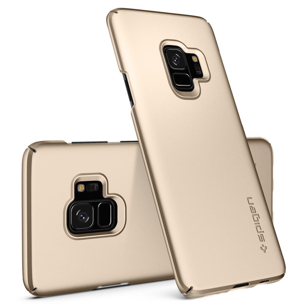 Spigen Mobile Phone Case Galaxy S9 Case Thin Fit 592cs23187 Kopen