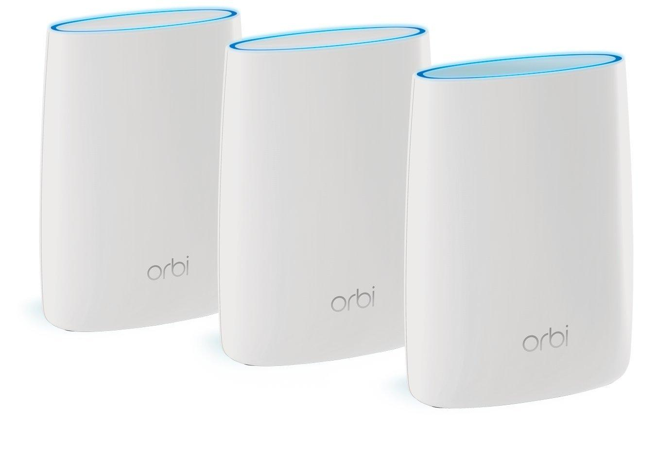 Netgear Wireless Router Orbi Rbk53 Tri Band Ac3000 Mesh
