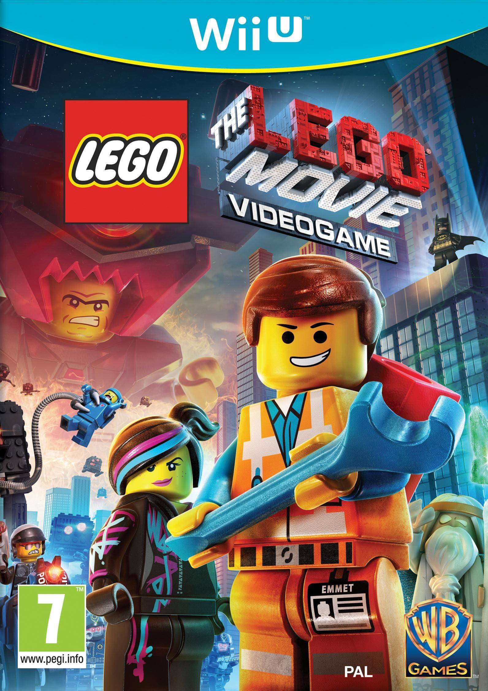 Warner Bros LEGO Movie Wii U (1000452079) thumbnail