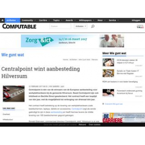 Centralpoint wint aanbesteding Hilversum  | Computable.nl