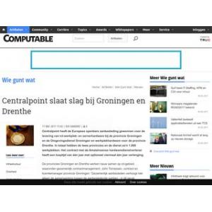 Centralpoint slaat slag bij Groningen en Drenthe | Computable.nl