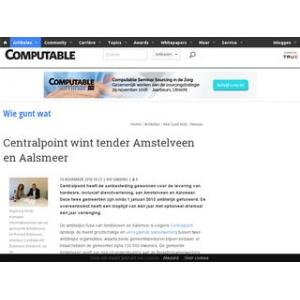 Centralpoint wint tender Amstelveen en Aalsmeer | Computable.nl