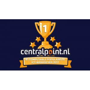 Computable top-100 ICT Werkgevers 2017 : Centralpoint is populairste ict-werk...