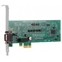 Brainboxes interfaceadapter: 1 x RS422/485, 9 Pin (M), PCI Express - Groen
