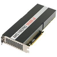 AMD videokaart: FirePro S9300 x2 - Zwart, Zilver
