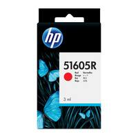 HP inktcartridge: rode Jetpaper inktcartridge - Rood