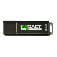 Mushkin USB flash drive: MKNUFDIM64GB IMPACT - Zwart