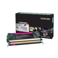Lexmark toner: Toner Cartridge C 748 DE/DTE/E, Magenta, 10000 Pages