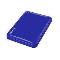 Toshiba externe harde schijf: Canvio Connect II 500GB - Blauw