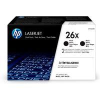 HP toner: 26X 2-pack zwart voor o.a LaserJet Pro M402 & M426