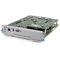 Hewlett Packard Enterprise netwerkkaart: Advanced Services v2 zl Module with HDD