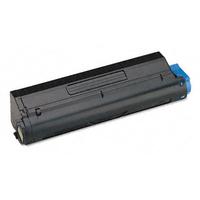 OKI cartridge: MB480 Black Toner Cartridge - Zwart