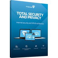 F-SECURE software: Total Security and Privacy