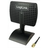LogiLink antenne: Wireless LAN Antenna, Yagi-directional, 6 dBi - Zwart
