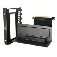 Cooler Master Computerkast onderdeel: Vertical Graphics Card Holder Kit, 145 x 120 x 170 mm - Zwart