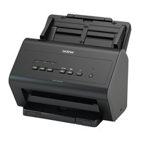 Brother scanner: Desktop scanner - 30 ppm - dubbelzijdig - Netwerkklaar - Zwart