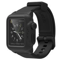 Catalyst : Case for 42mm Apple Watch, IP-68, Premium Silicone Wrist Strap, 35g, Black - Zwart
