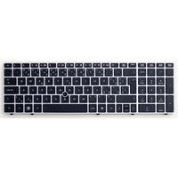 HP toetsenbord: Keyboard with pointing stick - Includes keyboard and pointing stick cables - For use with 6560b models .....