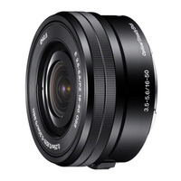 Sony camera lens: E PZ 16-50 mm F3.5-5.6 OSS - Zwart