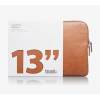Trunk TR-LEA13 Laptoptas - Bruin