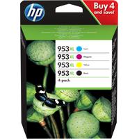 HP 953XL Inktcartridge - Zwart, Cyaan, Magenta, Geel