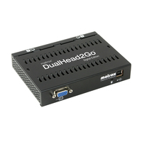 Matrox DualHead2Go Digital Edition Video splitter - Zwart