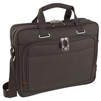 "Wenger/SwissGear laptoptas: ACQUISITION 16"" Laptop Briefcase with Tablet / eReader Pocket, Black - Zwart"