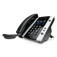 POLY VVX 501 IP telefoon - Zwart