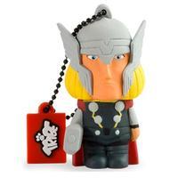 Tribe USB flash drive: Marvel The Avengers 16GB USB 2.0 Thor Flash Drive, Black/Yellow/Grey - Zwart, Grijs, Geel