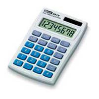 Ibico calculator: 081X - Blauw, Wit