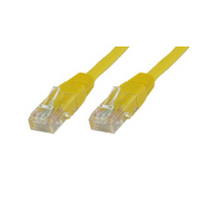 Microconnect netwerkkabel: CAT5e UTP 5m - Geel