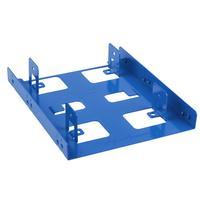 Sharkoon montagekit: 3.5'' BayExtension Blue - Blauw
