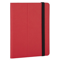 """Targus tablet case: Foliostand 9-10"""", Universal, Red - Rood"""