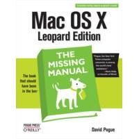 O'Reilly product: Mac OS X Leopard: The Missing Manual - EPUB formaat