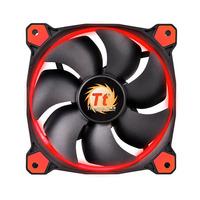 Thermaltake Hardware koeling: Riing 12 - Zwart, Rood