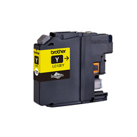 Brother inktcartridge: LC-12EY - Geel
