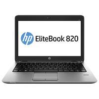 HP laptop: EliteBook 820 G1 - Intel Core i7 - 256GB SSD - Zilver