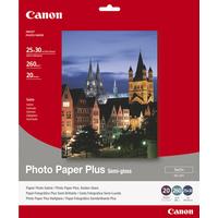Canon fotopapier: SG-201 Photo Paper Plus - 10x12