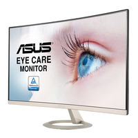 ASUS VZ27VQ Monitor - Zwart, Goud