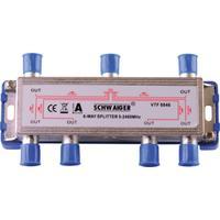 Schwaiger kabel splitter of combiner: VTF8846 241 - Roestvrijstaal