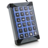 P&I Engineering toetsenbord: XK-24 - Zwart, Grijs