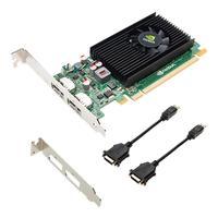 PNY videokaart: NVIDIA NVS 310 1GB - Zwart, Groen