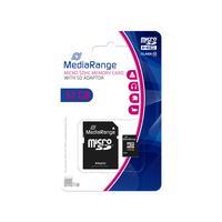 MediaRange flashgeheugen: 32GB microSDHC - Zwart
