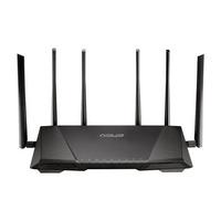 ASUS wireless router: RT-AC3200 - Zwart