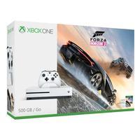 Microsoft spelcomputer: Xbox One S Forza Horizon 3 Bundle - Wit