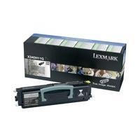 Lexmark toner: X342n 6K retourprogramma tonercartridge - Zwart