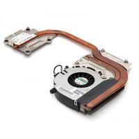 HP notebook reserve-onderdeel: Thermal Module - Zwart, Koper, Metallic