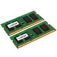 Crucial RAM-geheugen: 4GB (2x2GB) DDR3-1333 CL9 SO-DIMM LV