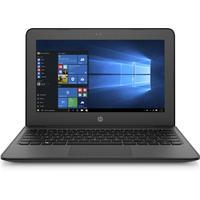 HP laptop: Stream 11.6 inch Pro G4 EE - Zwart